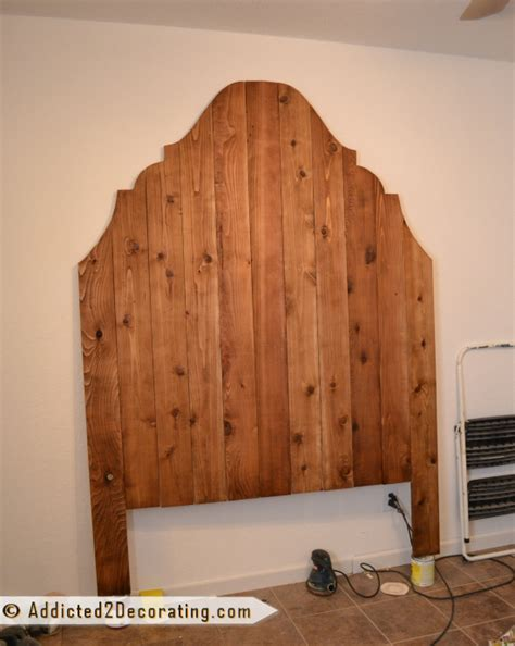wood fence headboard cheap and easy diy headboard made from cedar fence pickets