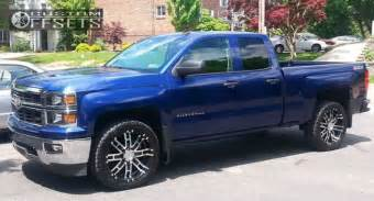 2014 Chevy Truck Custom Wheels Wheel Offset 2014 Chevrolet Silverado 1500 Flush Stock
