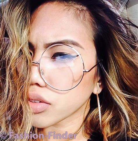 Big Frame Glasses oversized quot malina quot xl large big circle thin metal