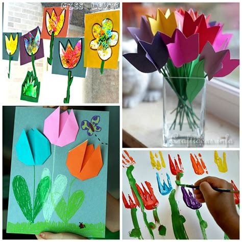 beautiful crafts beautiful tulip crafts that can make crafty morning