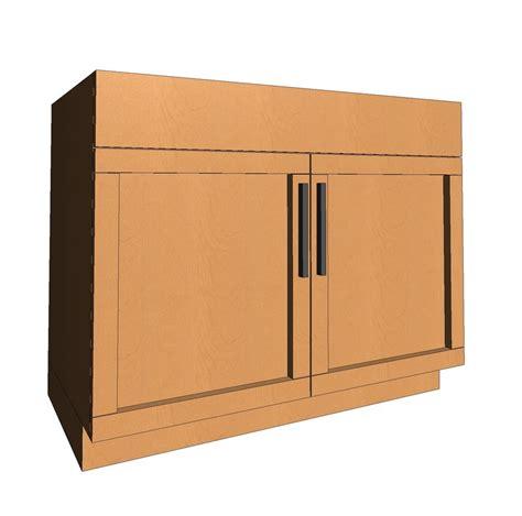 revit kitchen cabinets 3d model of revit sink cabinet shaker