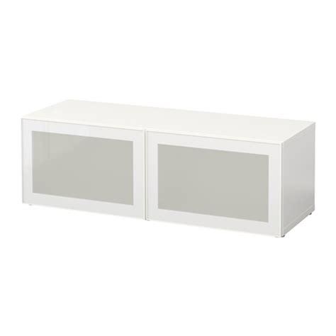 besta glassvik best 197 witryna biały glassvik białe matowe szkło ikea