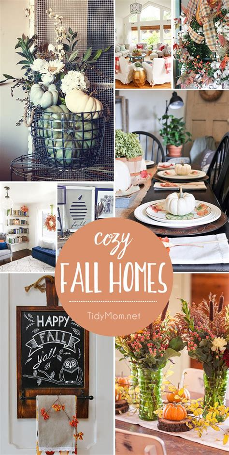 100 homes decorated for fall front door decor for