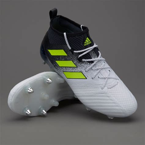 Sepatu Boot Di Ace Hardware adidas ace 17 1 sg mens boots soft ground s77049 white solar yellow black
