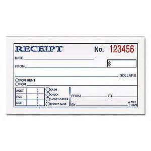 tops money rent receipt book 2 3 4x4 7 8 6rnj0 top46820