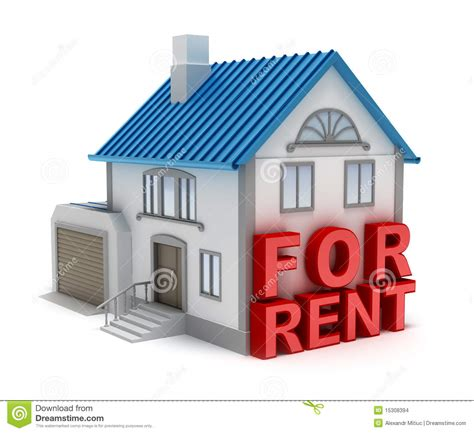 rent to buy housing home for rent 3d concept stock images image 15308394