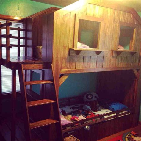 bunk bed with fort bunk bed with fort 28 images cabin bed plans palmetto