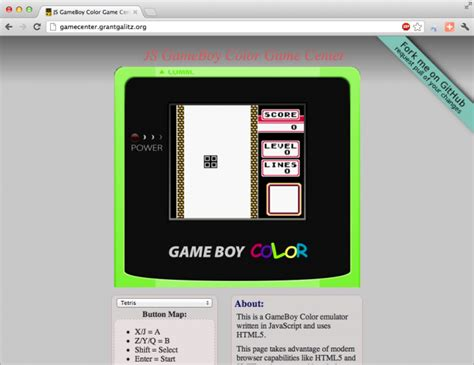 gameboy color emulator free html5 boy emulator
