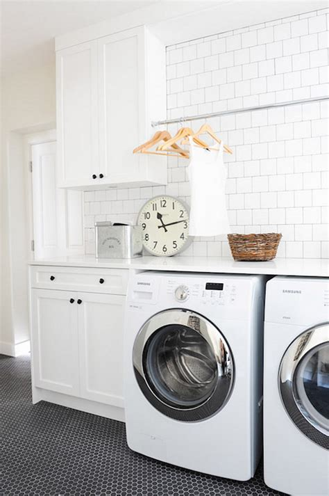 Laundry Room Design Ideas With Subway Tile Backsplash Laundry Room Backsplash Ideas