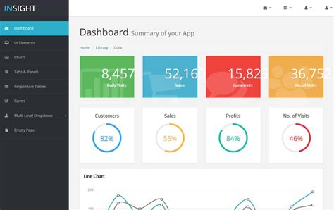 simple html admin template 100 best free bootstrap admin templates 187 css author