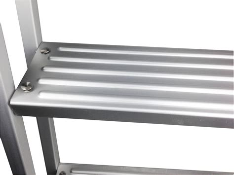 boat ladder removable pactrade marine pontoon boat aluminum 3 step heavy duty