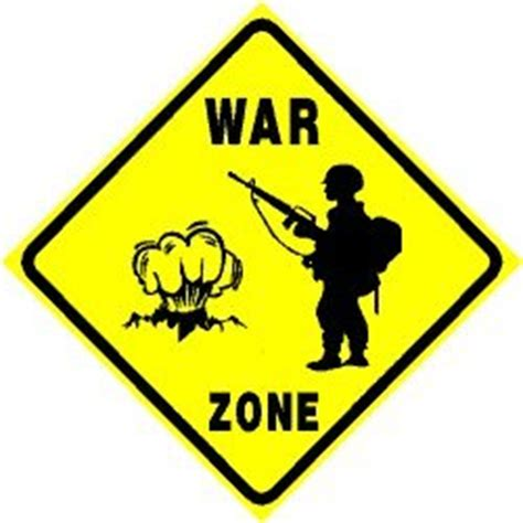 How To Make Area Rugs Amazon Com War Zone Soldier Combat Military Defense Sign