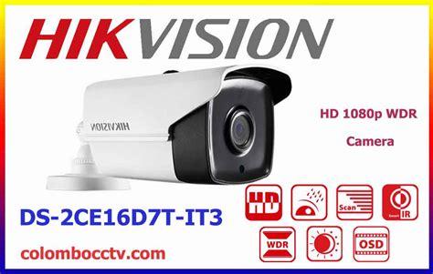 Hikvision Ds 2ce16d7t It1 Hd1080p Wdr Exir Bullet ds 2ce16d7t it3 hikvision wdr colombo cctv srilanka