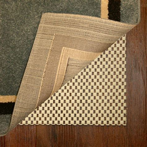 eco friendly rug pad best step eco friendly 5 ft x 8 ft premium rug pad r958t the home depot