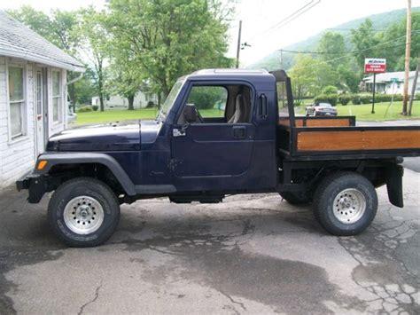 jeep wrangler bed jeep wrangler brute dump flat bed