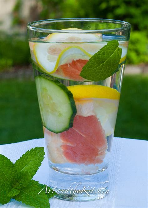 What Is A Water Detox by Dieter S Detox Water And The Kitchen