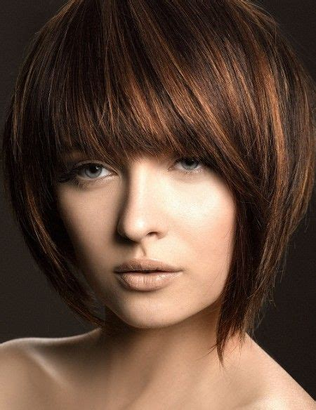 short hair cuts with the colors of carmel brown and highlights a lovely carmel highlights on dark brown hair hair