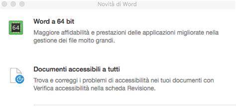 Office Update Mac Microsoft Office Per Mac Ora A 64 Bit Pc Professionale