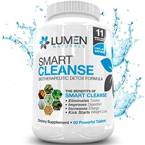 Psyllium Husk Detox Plan by Smart Cleanse 15 Day Colon Cleanse Biotherapeutic