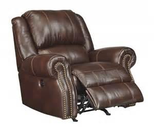 collinsville chestnut power rocker recliner u7210098