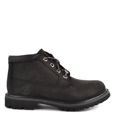 timberland womens nellie black chukka waterproof boot