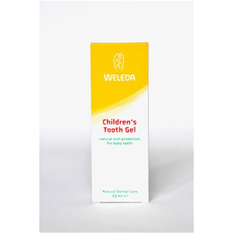 Barn Tooth Gel With Ingredients Childrens 180 S Tooth Gel Barn Tandkr 228 M 50 Ml Weleda Eco