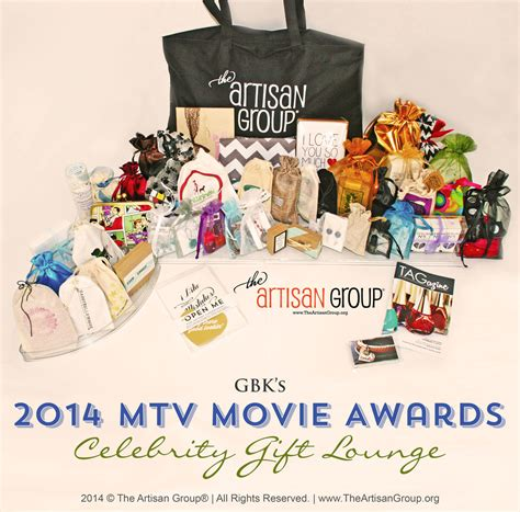 Whats In The Mtv Awards Goodie Bags by The Artisan 174 To Greet With Hip