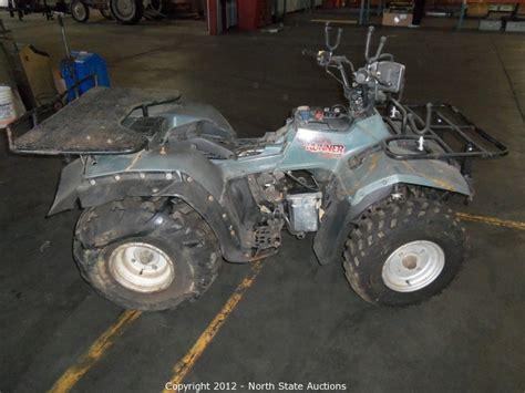 Suzuki Quadrunner 250 4x4 Parts State Auctions Auction Atv Utv Motorcycle Dual