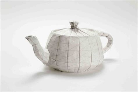 Origami Teapot - treasures of origami at the tikotin museum haifa