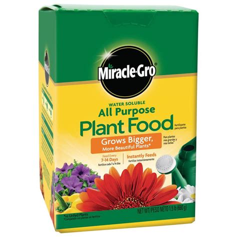 miracle gro water soluble 1 5 lb all purpose plant food