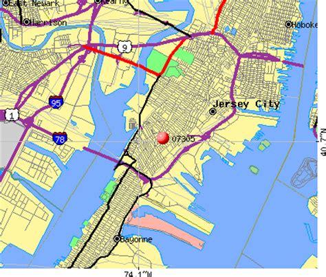 zip code map jersey city 07305 zip code jersey city new jersey profile homes