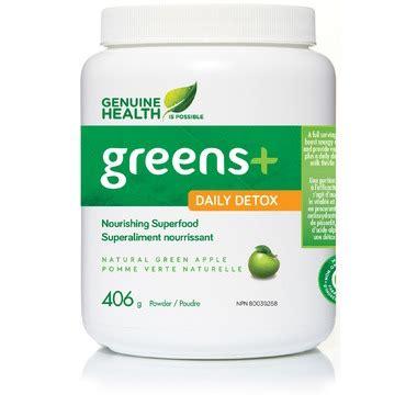Genuine Health Detox Reviews buy genuine health greens daily detox at well ca free