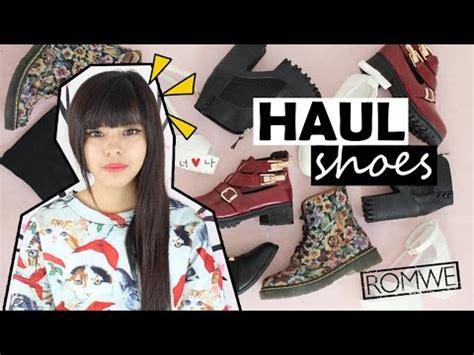 Tv Akari Gracia Mi Colecci 211 N De Zapatos Haul Shoes Romwe Akari Asurekazani