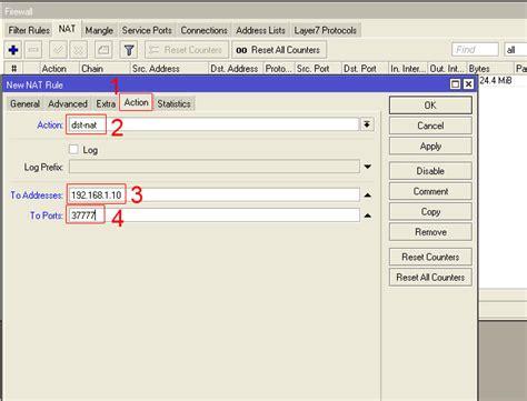 mikrotik port forwarding portforward with mikrotik 寘