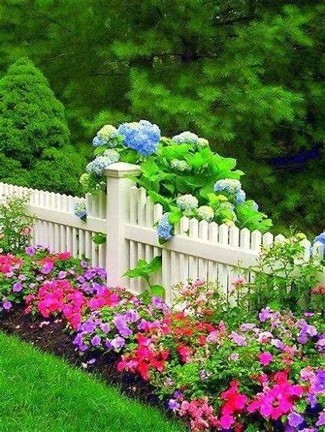 flower bed fence beautiful flower bed along fence pictures photos and images for facebook tumblr