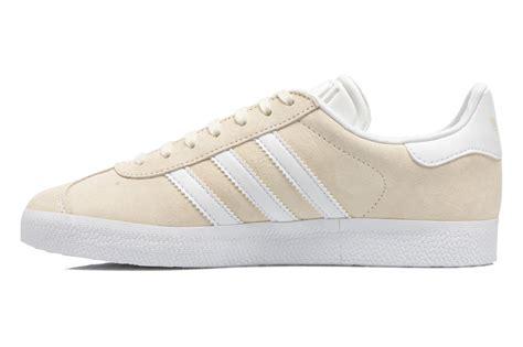 big discount womens adidas gazelle trainers beige adidas