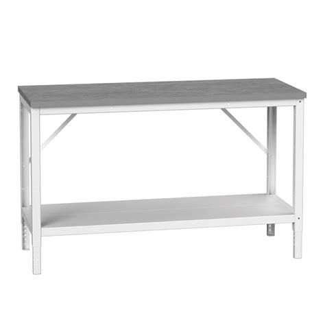 bench depth bench with full depth shelf 780mm high csi products