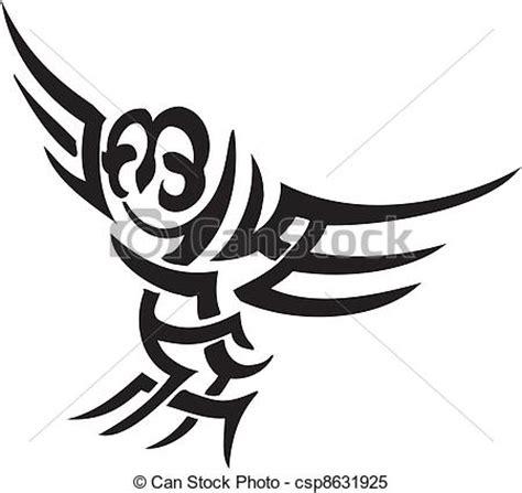 clipart vectorial de b 250 ho estilo tribal ilustraci 243 n