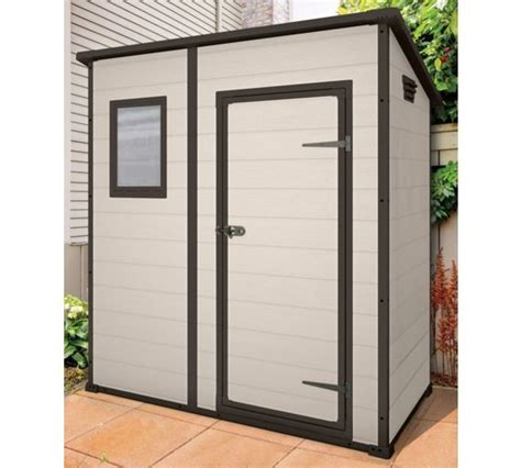 Keter Pent Shed by Buy Keter Designer Pent Plastic Garden Shed 6 X 4ft At