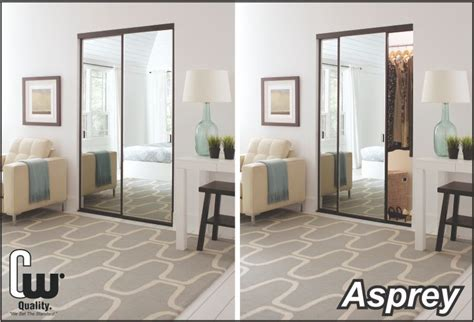 sliding closet doors with glass or mirror the glass door