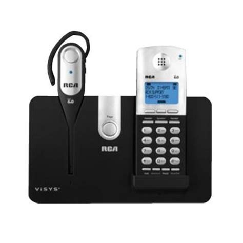 rca dect 6 0 cordless phone with wireless headset