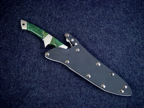 Handmade Combat Knives - quot minuteman quot custom handmade tactical knife by fisher
