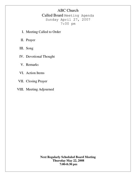 church minutes template church meeting agenda search results calendar 2015