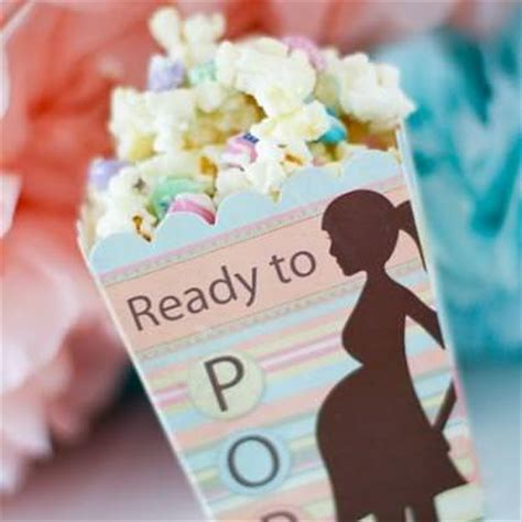 Popcorn Baby Shower Theme by Baby Shower Popcorn Favor Recipe Tip Junkie