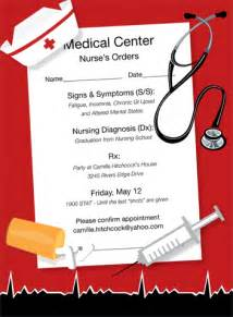 nurses orders invitations by noteworthy collections invitation box