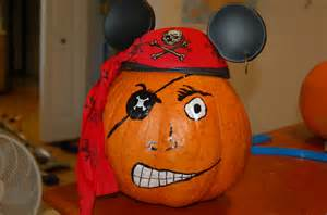 easy pirate pumpkin for kid s halloween project