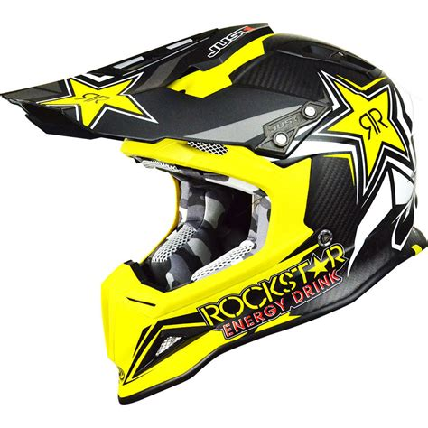 motocross helmets new just1 mx j12 rockstar 2 0 yellow black dirt bike