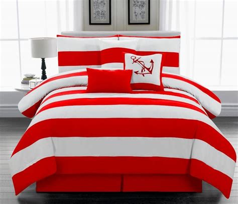 red and white bedding red and white comforter ideas homesfeed