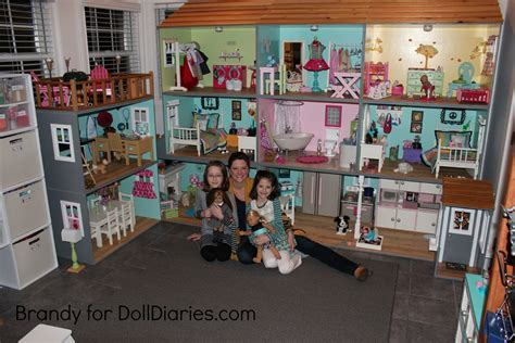 you and me doll house light up your dollhouse doll diaries