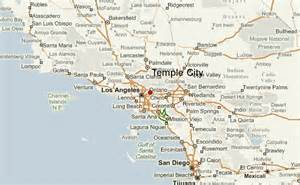 temple city california map temple city location guide